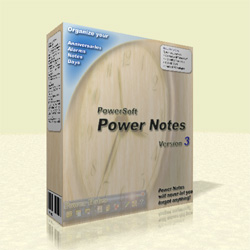 Details about organizer Power Notes